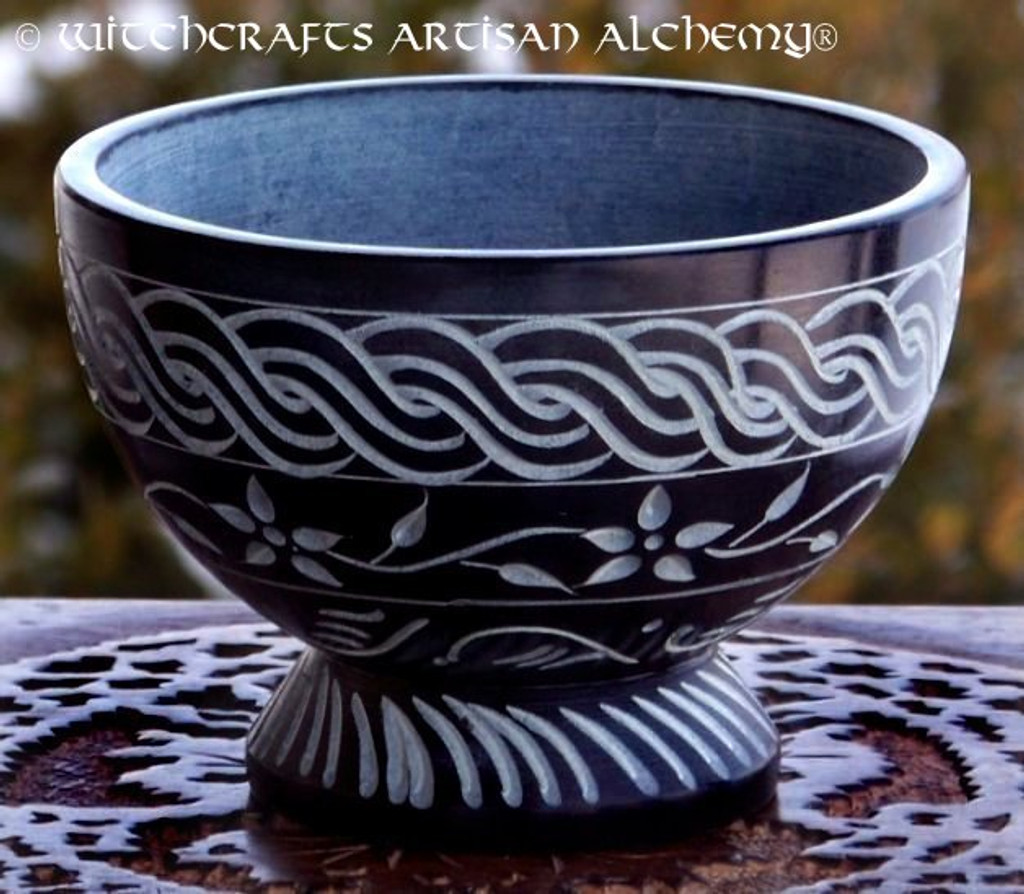 CELTIC BEAUTY Stone Incense Bowl Burner