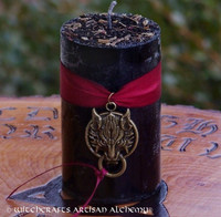 FENRIR Wolf Bound Pillar Candle