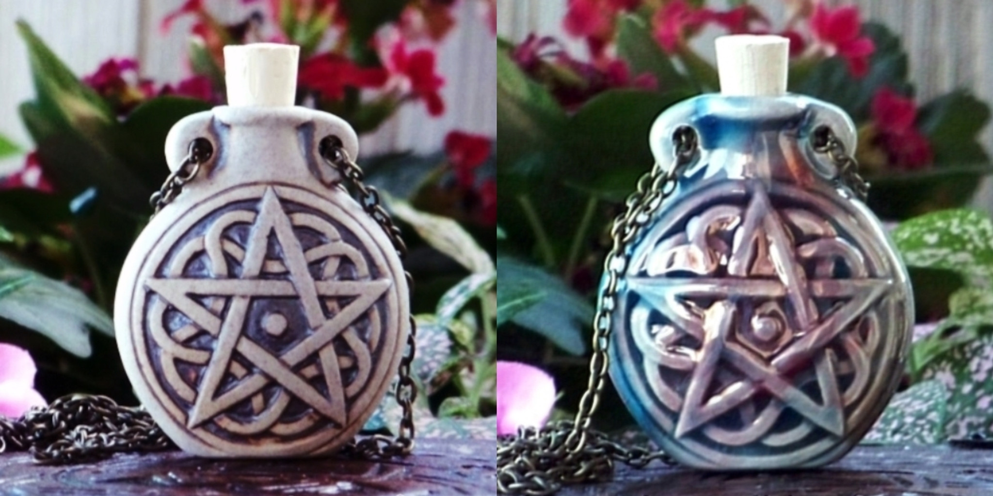 Oil Bottle Necklaces