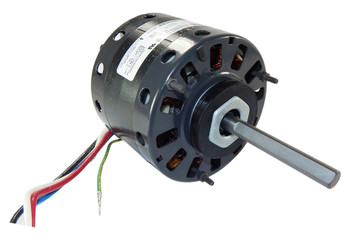 "1/5 hp 1050 RPM CW 5"" 3-Speed 115V Direct Drive Furnace Motor Fasco # D158"