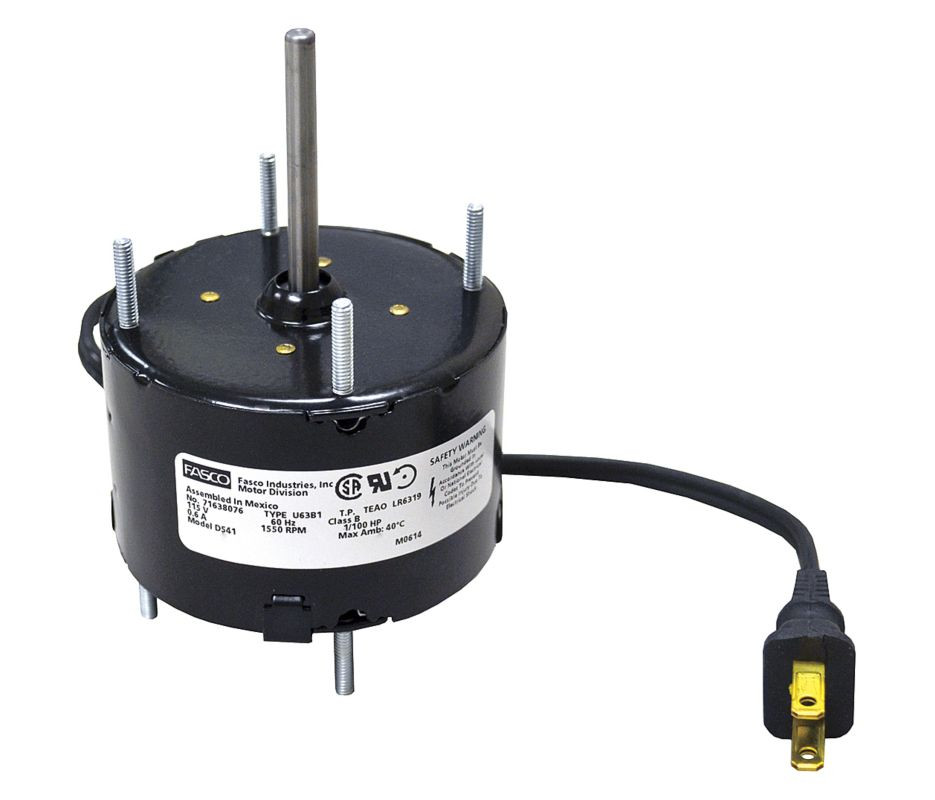 NutoneBroan Replacement Fan Motors Electric Motor Warehouse - Fasco bathroom exhaust fan for bathroom decor ideas