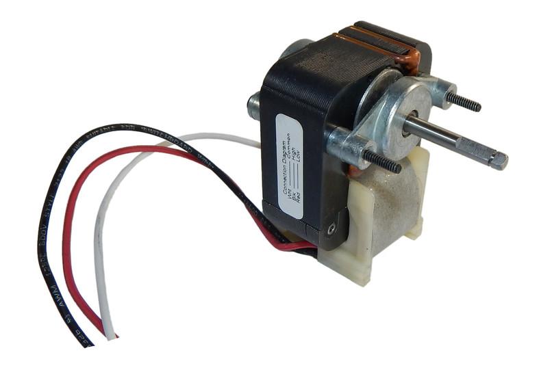 Fasco c frame 2 speed hood fan motor 75 amps 3000 rpm for Fasco exhaust fan motor