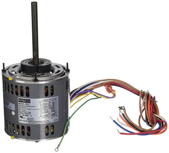 "1/2 hp 1075 RPM 4-Speed 115 Volts 5.6"" Diameter Fasco Furnace Motor # D701"