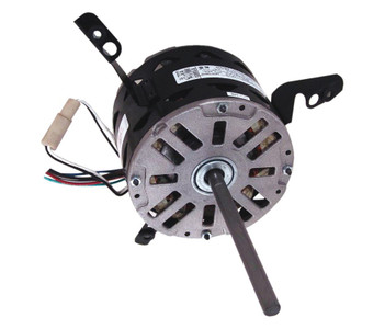 "1/6 hp 1075 RPM 3-Speed 277V 5.6"" Diameter Furnace Motor Century # 9431A"