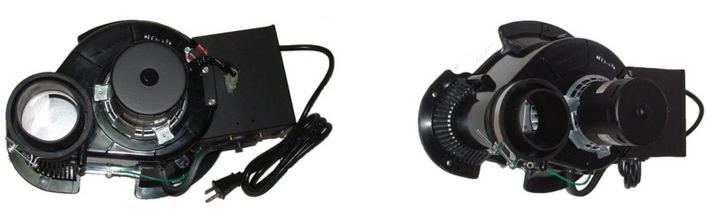 Century hot water heater exhaust draft inducer blower for Hot water heater blower motor