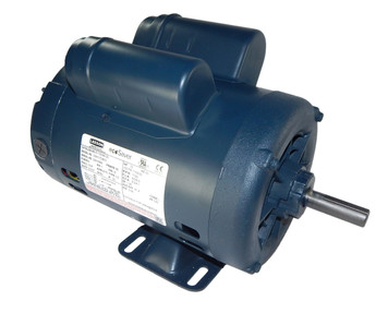 3/4 hp 1725 RPM 56 Frame 115/208-230 Volts Open Drip Leeson Electric Motor # E119348