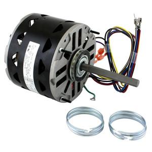 furnace blower electric motors belt drive direct drive 1 3 hp 1075 rpm 3 speed 48 frame 208 230v direct drive