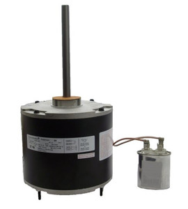 """1/6 hp 825 RPM 48 Frame 208-230V 5 5/8"""" Diameter Condenser Fan Motor # EM3403"""