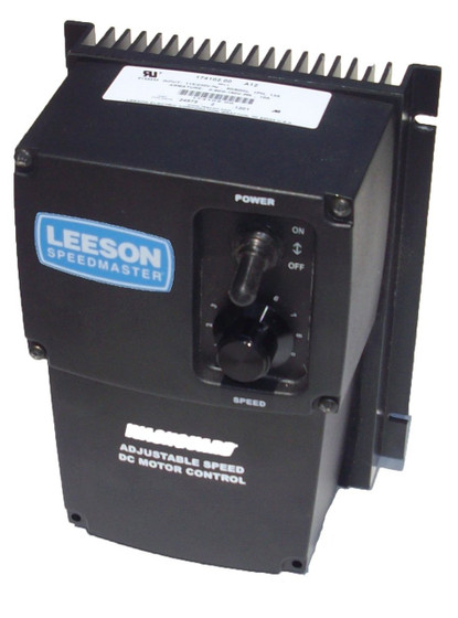 Leeson dc motor control 174102 nema 4x 90 180vdc 1 for Leeson 1 2 hp dc motor