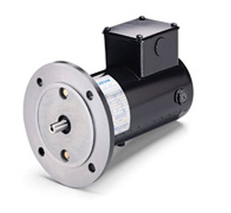Permanent Magnet 12VDC Motor 90Volts DC 1/4 hp 1750 RPM 34G56C Frame Leeson Electric  M1130055
