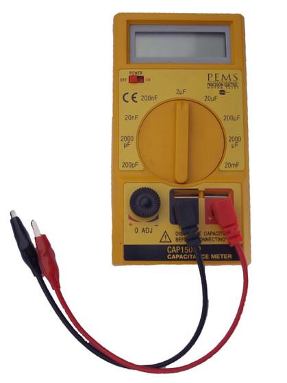 Electric Motor Tester : Digital capacitor tester for electric motor capacitors