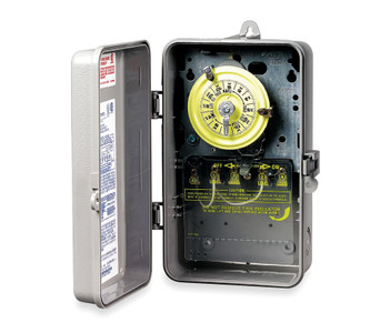 Intermatic T104P Plastic Enclosure  208-277V DPST Multi Use Timer