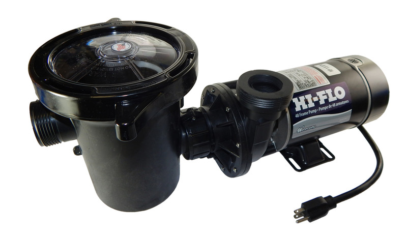 1 5 hp 3450 rpm 115v above ground pool pump waterway for Above ground swimming pool motors