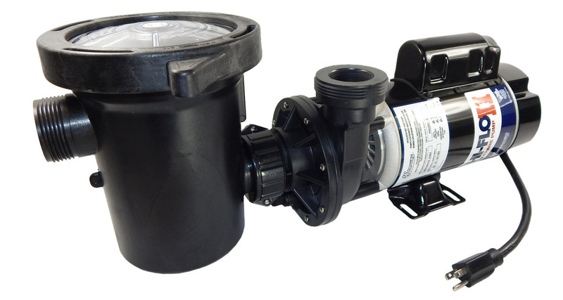 2 hp 2 speed 3450 1725 rpm 115v above ground pool pump for Above ground pool motors