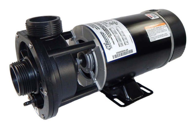3 4 hp 115v 2 speed waterway spa pump 1 1 2 center for Spa motor and pump