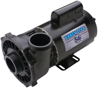 5HP 230V 2-Speed Waterway Spa Pump Side Discharge | 56 Frame Executive | 3722021-1D