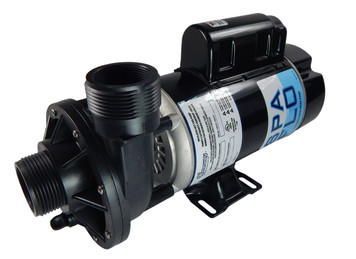 "1.5 hp 2-Speed 115V Waterway Spa Flo 1 1/2"" Side Discharge 48 Frame 