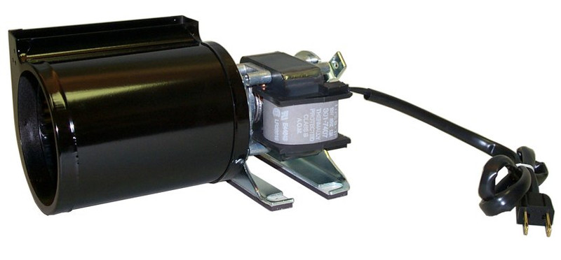 Low Profile Blower : Fireplace blower low profile cfm fk rotom replacement