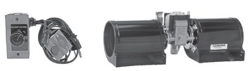 Fireplace Blower for Kingsman Fits all 33,35, 37,48; Rotom Replacement # R7-RB38