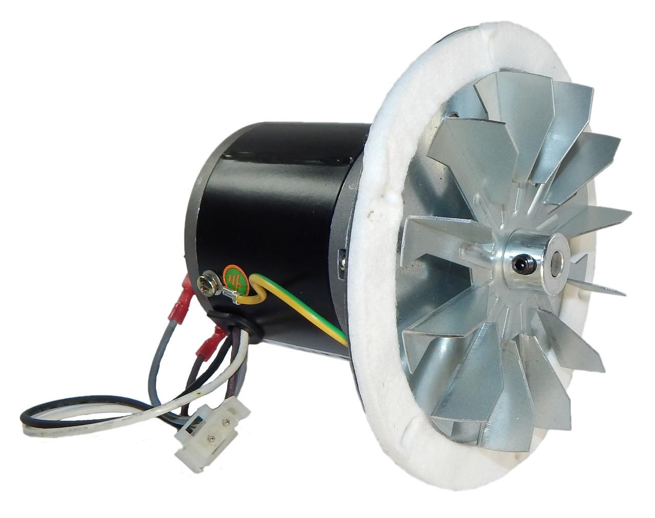 Pellet Stove Blower Motor, 1/60 hp, 3000 RPM, 0.3 amps. 115V Rotom ...
