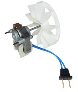 Broan Replacement Bath Ventilator Motor and blower wheel # 97012038, 50 CFM, 120V