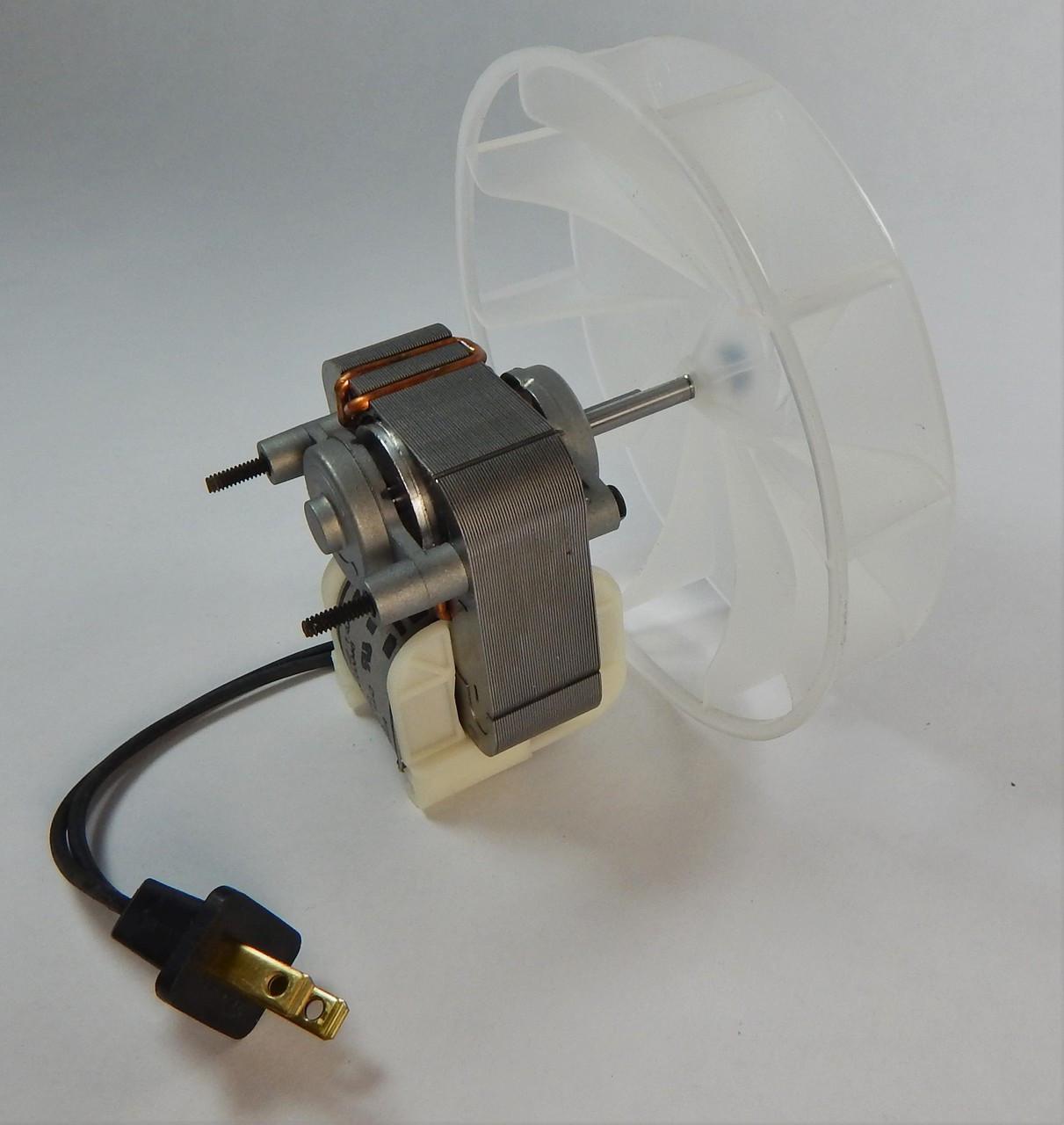 broan 671 671 a fan motor motor u0026 blower wheel 115v 97008513