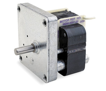 Dayton Model 1L455 Gear Motor 29 RPM 1/100 hp, 220V 50hz.