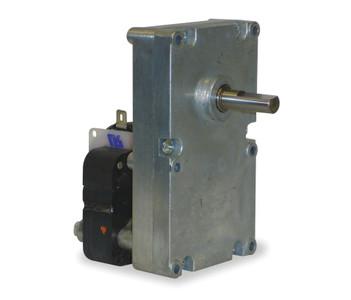 "Dayton Model 52JE09 Gear Motor 3/8"" Shaft 2 RPM CW 115V (pellet stove)"
