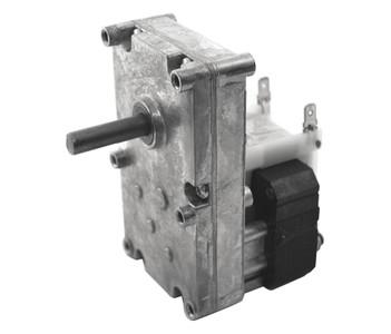 "Dayton Model 52JE13 Gear Motor 3/8"" Shaft 10 RPM CW 115V"