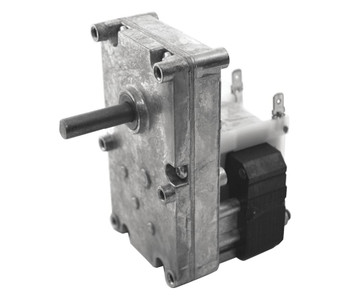 "Dayton Model 52JE07 Gear Motor 3/8"" Shaft 4 RPM CCW 115V (pellet stove)"