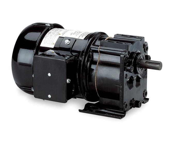 Dayton Model 6k329 Gear Motor Tefc 40 Rpm 1 6 Hp 115