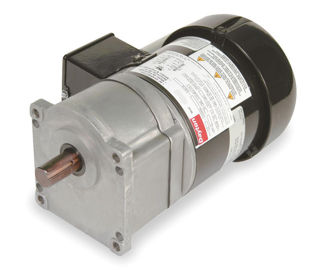 Dayton Model 1lpx4 Gear Motor 15 Rpm 1 6 Hp 115 230v 2h439