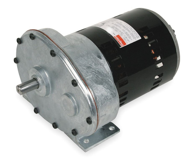 Dayton model 1lpu4 gear motor 62 rpm 1 2 hp 115 volts 2z795 for 4 rpm gear motor
