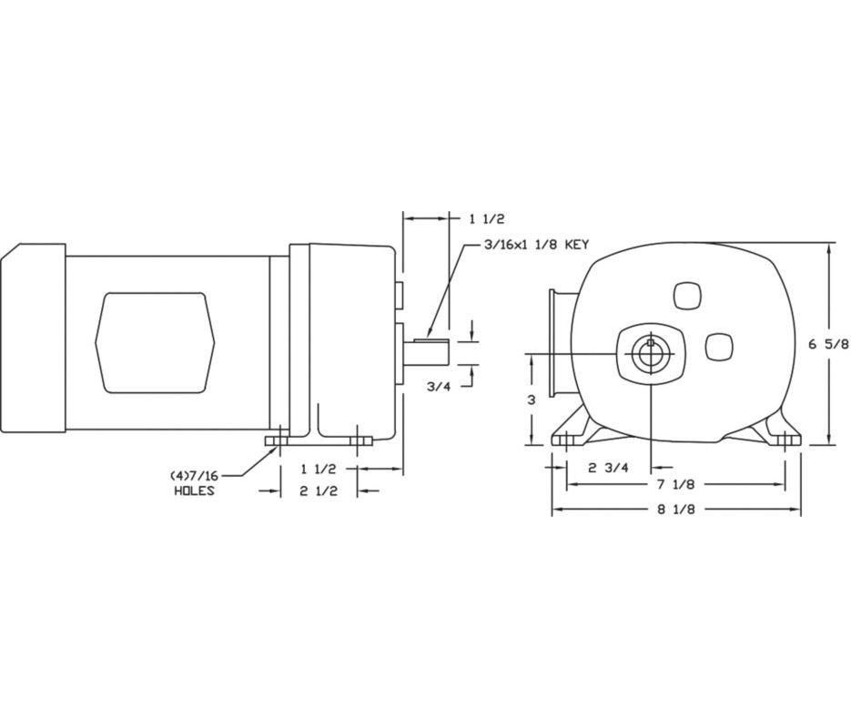 Dayton Motor Wiring Diagram Nilzanet – Dayton Electric Motor Wiring Diagram