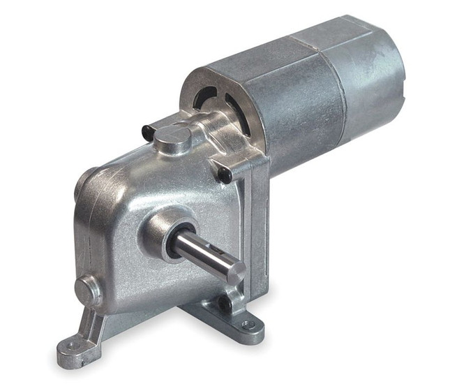 Dayton Model 1lra6 Ac Dc Left Hand Gearmotor 4 5 Rpm 1 15