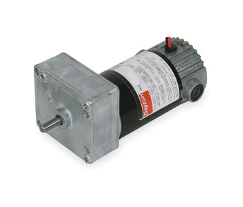 Dayton Model 1LPV5 DC Gear Motor 24 RPM 1/30 hp 12VDC (1L477)