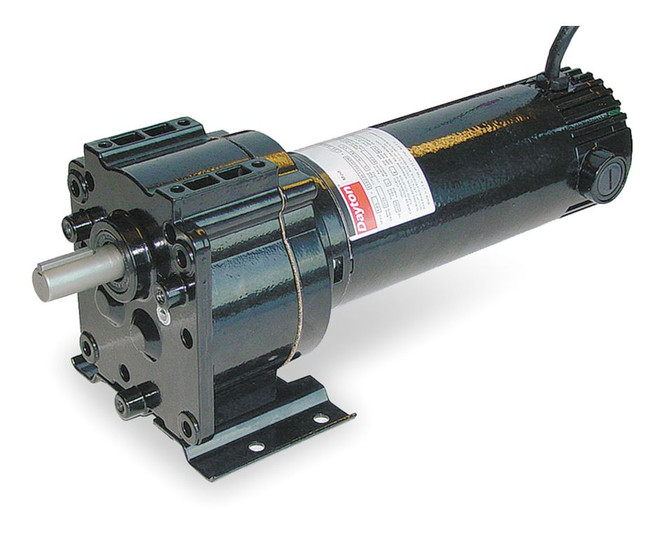 Dayton Model 1z824 Dc Gear Motor 50 Rpm 1 6 Hp 12vdc