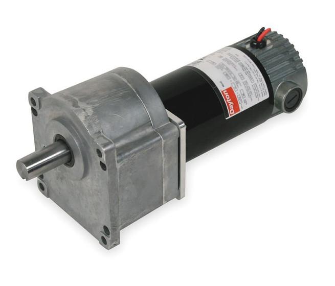 Dayton Model 1lpx9 Dc Gear Motor 61 Rpm 1 10 Hp 90vdc 2h463
