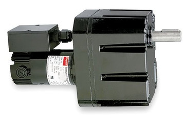 Dayton Model 2H594 DC Gear Motor 1.3 RPM 1/20 hp TENV 90VDC