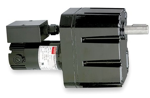 Dayton model 2h594 dc gear motor 1 3 rpm 1 20 hp tenv 90vdc for 20 hp dc motor