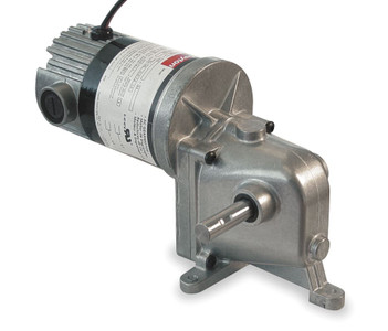 Dayton Model 1LRB3 DC Gear Motor 90 RPM 1/10 hp TENV 90VDC (4Z728)