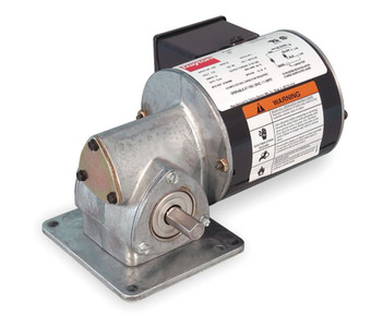 Dayton Model 1XFY7 Gear Motor 173 RPM 1/12 hp TENV 115V