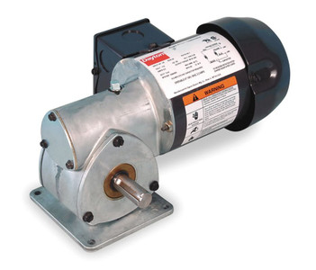 Dayton Model 1XFY8 Gear Motor 29 RPM 1/8 hp TEFC 115V