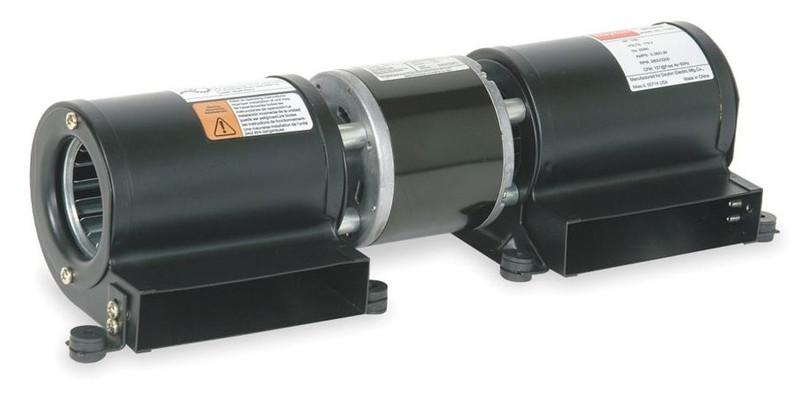 Dayton model 1tdu7 low profile blower 115 volt for for Blower motor wood stove