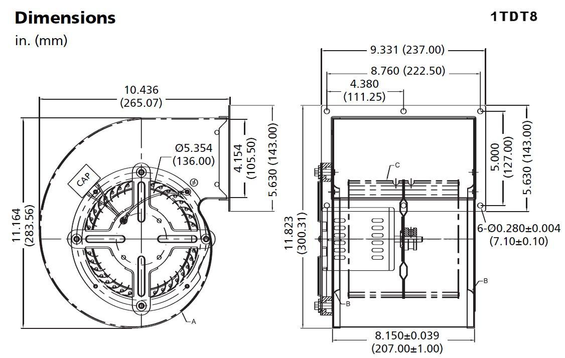 Wiring Diagram For Rheem Blower Motor : Rheem blower motor wiring diagram jeffdoedesign