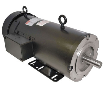 1/2 hp 1750 RPM 56C Frame 180 Volts DC Dayton Electric Motor Model 4Z524