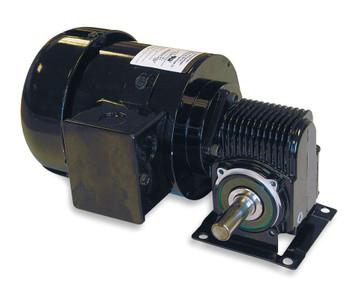 Dayton Model 3XA90 AC Gear Motor 55 RPM 1/4 hp TEFC 115/230V