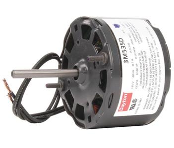 "1/100 hp, 1550 RPM, 115 Volt, 3.3"" diameter Dayton Electric Motor Model 3M535"