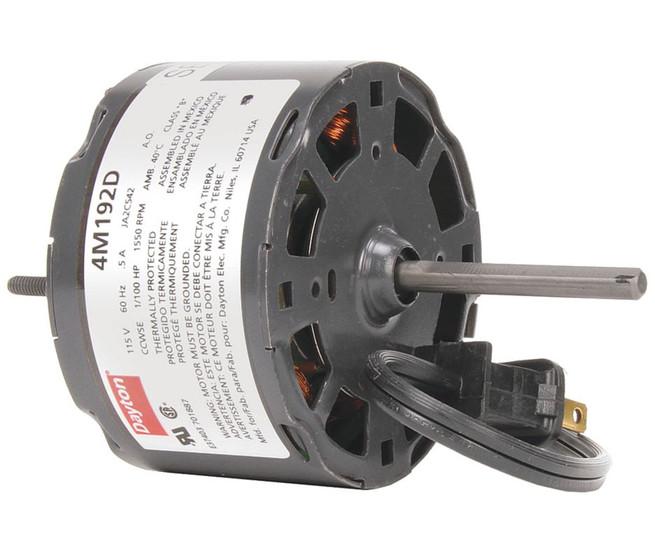1 100 hp 1550 rpm 115 volt 3 3 diameter dayton for Dayton 1 3 hp electric motor