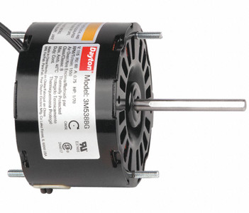 "1/70 hp, 1550 RPM, 115 Volt, 3.3"" diameter Dayton Electric Motor Model 3M538"